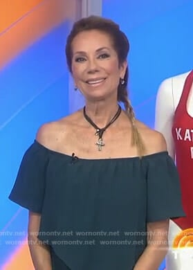 Kathie's off shoulder jumpsuit on Today