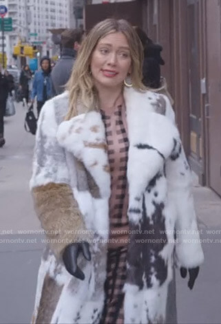 Kelsey's mixed fur coat on Younger