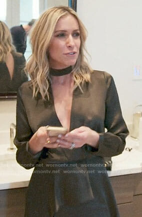 Kristin's wrap dress on Very Cavallari