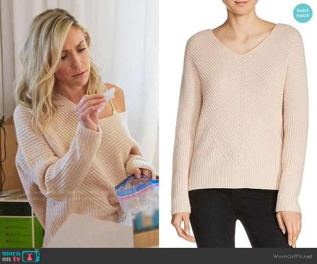 Maje Madina Sweater worn by Kristin Cavallari on Very Cavallari