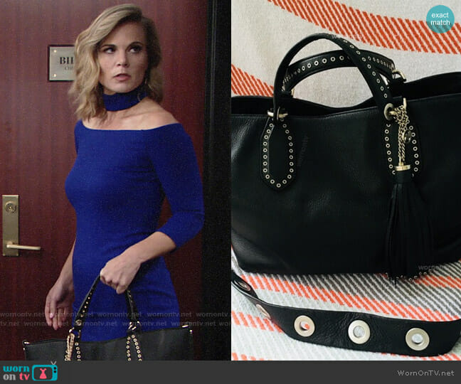 MICHAEL Michael Kors Brooklyn Tote worn by Gina Tognoni on The Young & the Restless