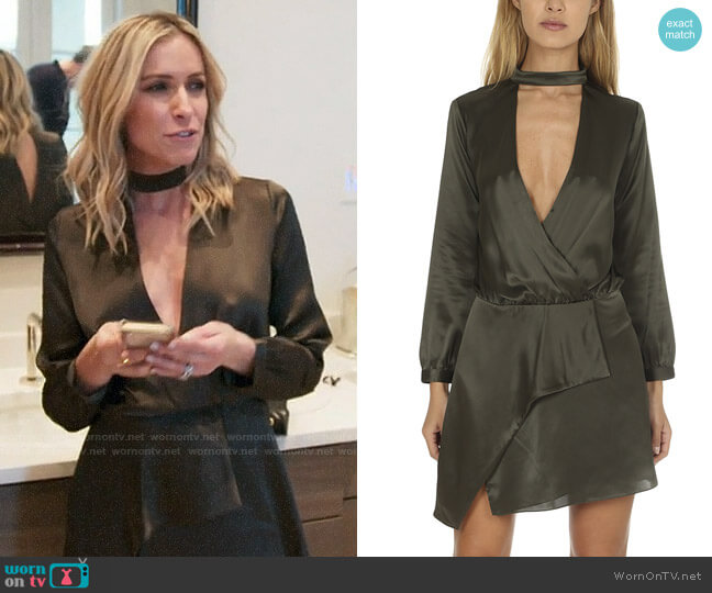Michelle Mason Choker Mini Dress worn by Kristin Cavallari on Very Cavallari