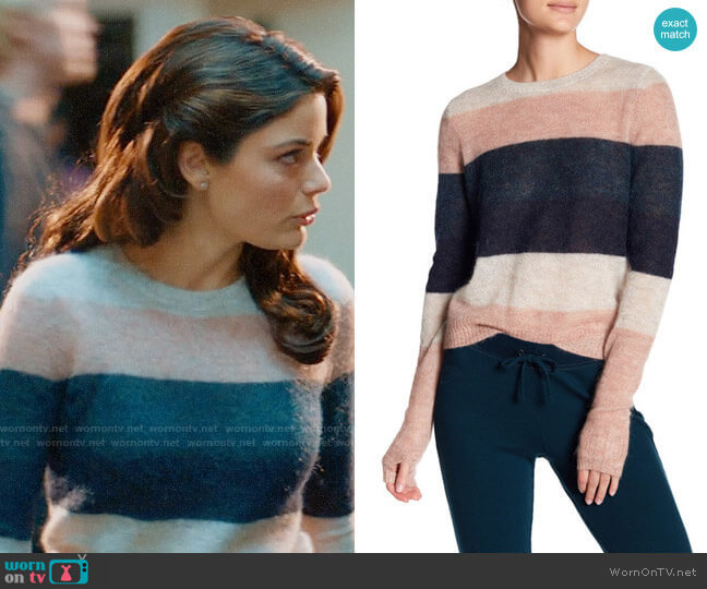 Pam & Gela Striped Sweater worn by Natasha Wilson on UnReal