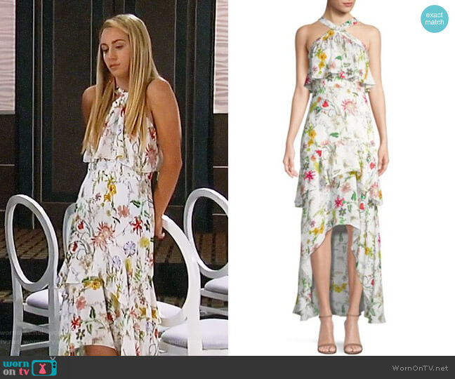 Parker Fillipa Dress worn by Josslyn Jacks (Eden McCoy) on General Hospital
