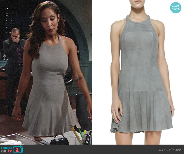 Parker Leona Dress worn by Lily Winters (Christel Khalil) on The Young & the Restless