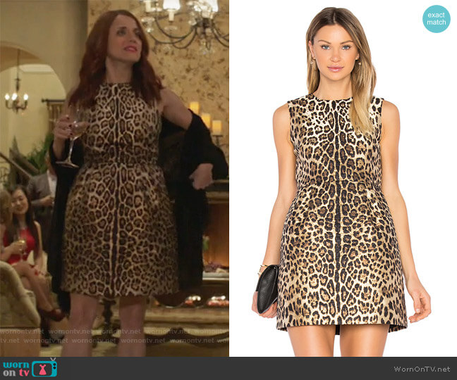 Sleeveless Dress by Red Valentino worn by Jo (Alanna Ubach) on GG2D