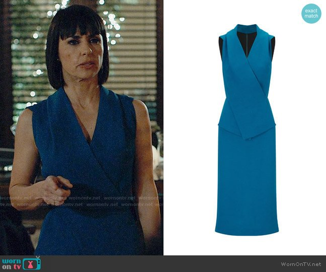 Roland Mouret Arlesey Dress worn by Quinn King (Constance Zimmer) on UnReal