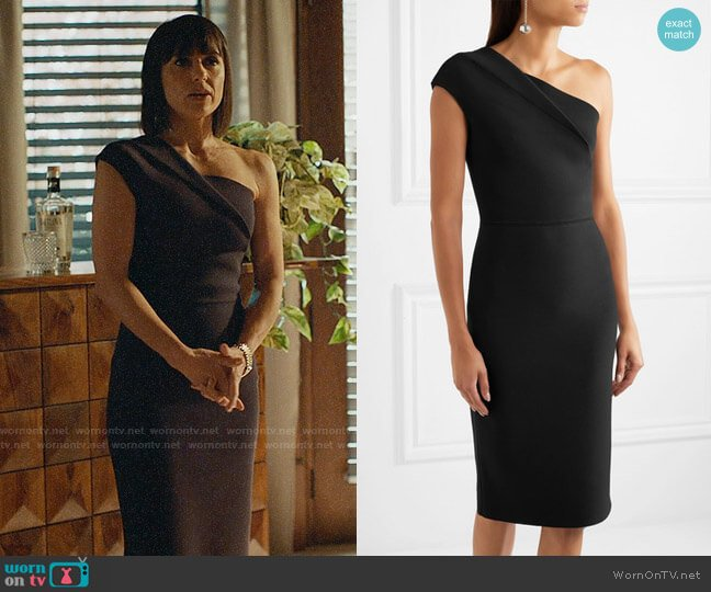 Roland Mouret Brattle Dress worn by Quinn King (Constance Zimmer) on UnReal