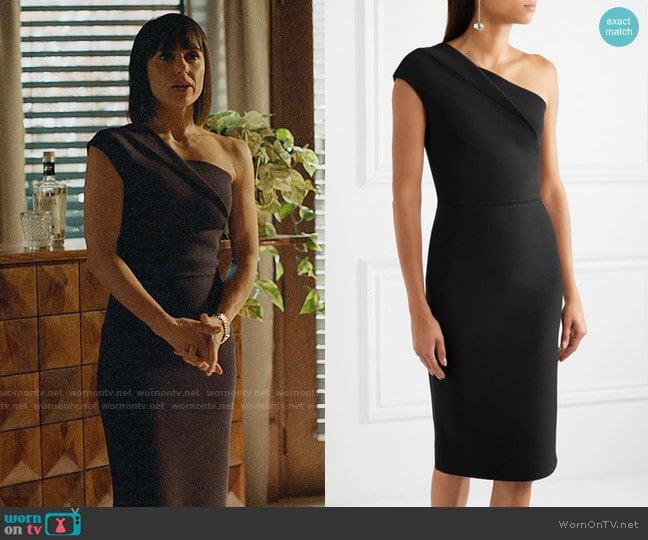 Roland Mouret Brattle Dress worn by Constance Zimmer on UnReal