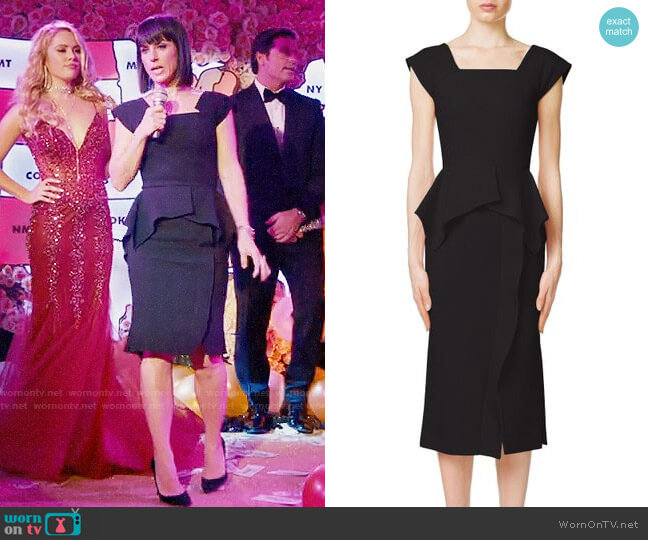 Roland Mouret Sawleigh Dress worn by Quinn King (Constance Zimmer) on UnReal