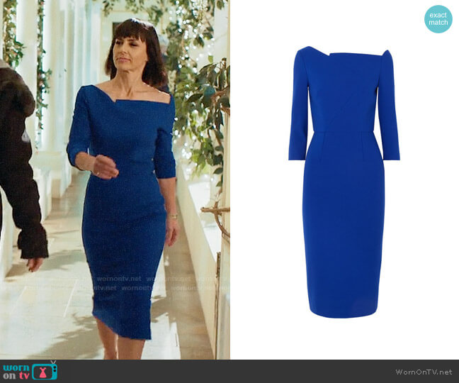 Roland Mouret Witham Dress worn by Quinn King (Constance Zimmer) on UnReal