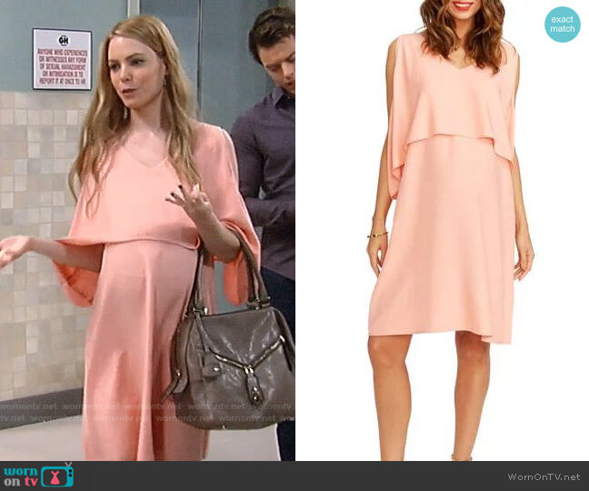 Rosie Pope Janie Dress worn by Chloe Lanier on General Hospital