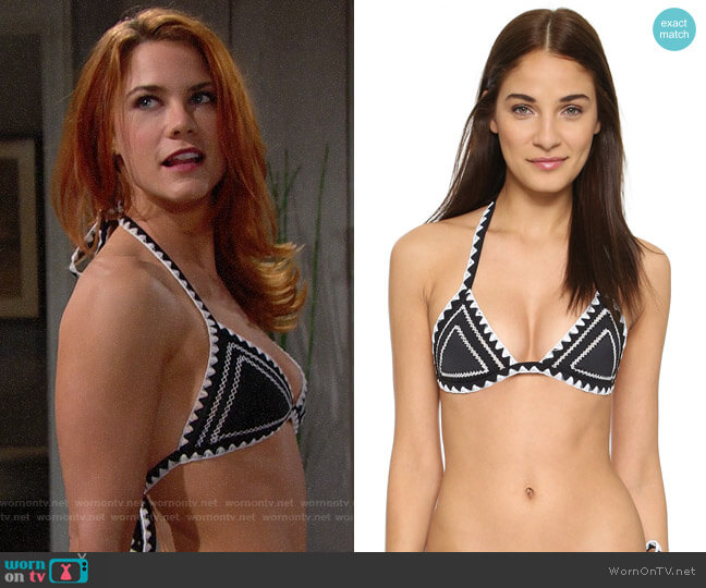 Same Swim The Catch Bikini worn by Sally Spectra (Courtney Hope) on The Bold & the Beautiful
