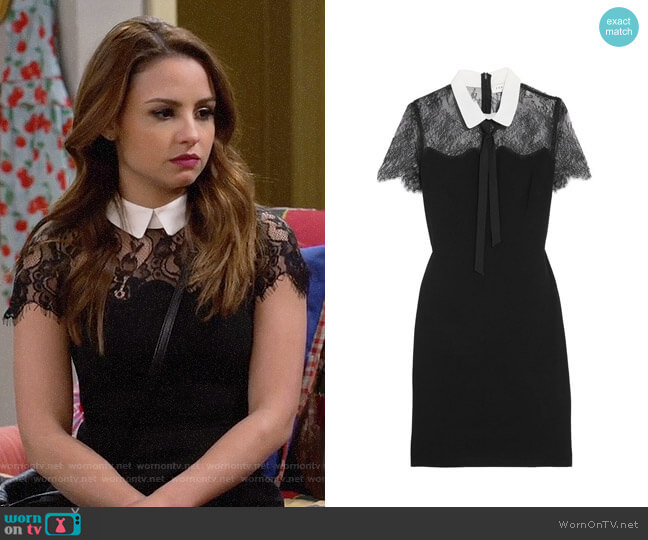 Sandro Renee Dress worn by Sofia Rodriguez (Aimee Carrero) on Young & Hungry