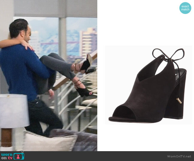 Steve Madden Saffron Mule worn by Emily Osment on Young & Hungry