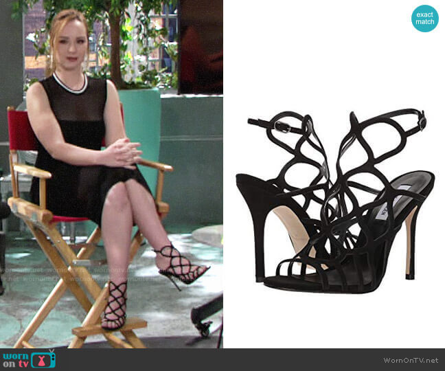 Steve Madden Teagen Sandals  worn by Camryn Grimes on The Young & the Restless