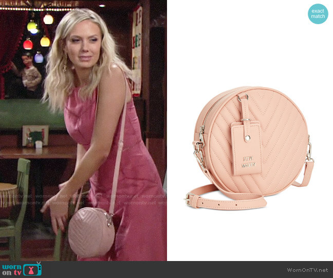 Steve Madden Valerie Crossbody Bag worn by Melissa Ordway on The Young & the Restless