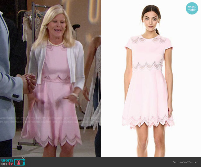 Ted Baker Rehanna Dress worn by Pamela Douglas (Alley Mills) on The Bold & the Beautiful