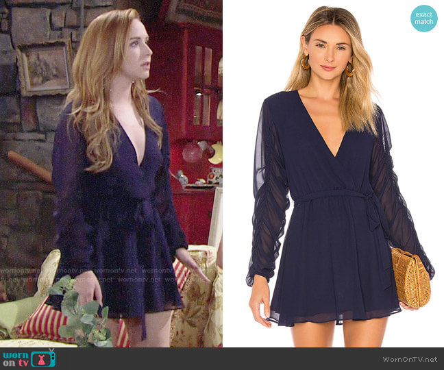 Tularosa Tawney Dress worn by Camryn Grimes on The Young & the Restless