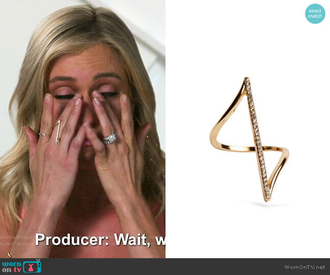 Uncommon James Boulevard Ring worn by Kristin Cavallari  on Very Cavallari