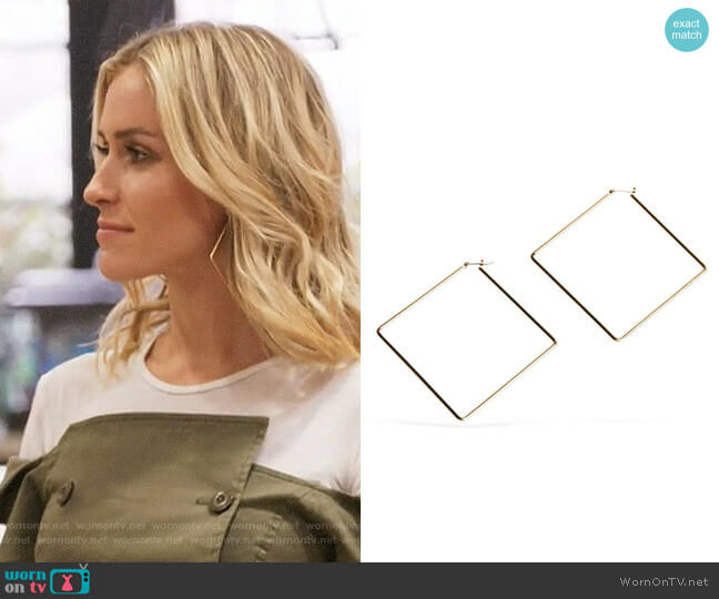 Uncommon James Girl Boss Hoops worn by Kristin Cavallari  on Very Cavallari