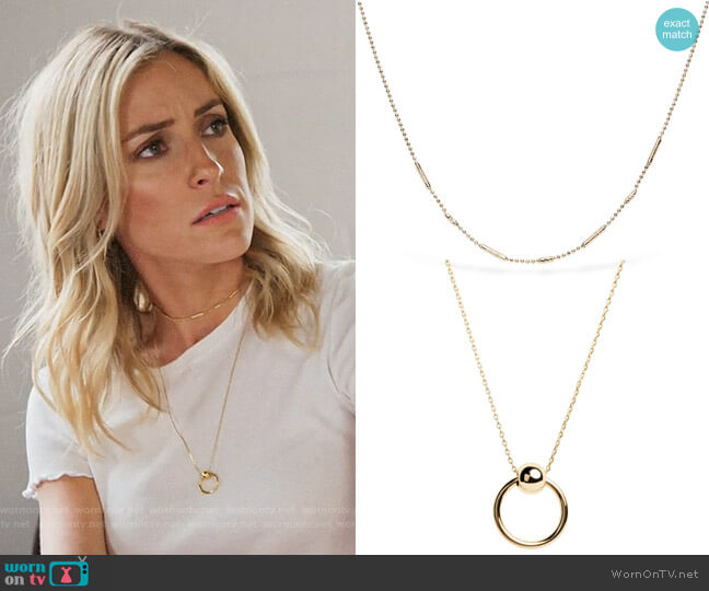 Uncommon James Ready to Mingle and Helix Necklaces worn by Kristin Cavallari  on Very Cavallari