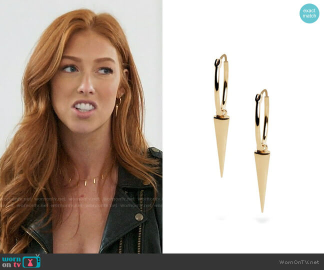 Uncommon James Sharp Shooter Earrings worn by Shannon Ford  on Very Cavallari