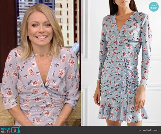 Rowe Dress by Veronica Beard worn by Kelly Ripa (Kelly Ripa) on Live with Kelly & Ryan