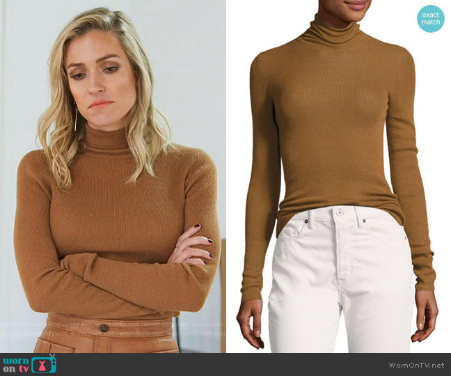 Vince Skinny Rib Sweater worn by Kristin Cavallari on Very Cavallari
