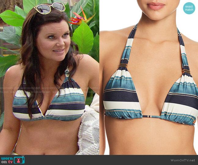 Vix Bia Bikini Top in San Andres worn by Heather Tom on The Bold & the Beautiful