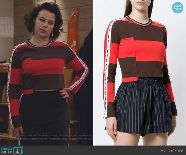 Cropped Top by 3.1 Phillip Lim worn by Debi Mazar on Younger