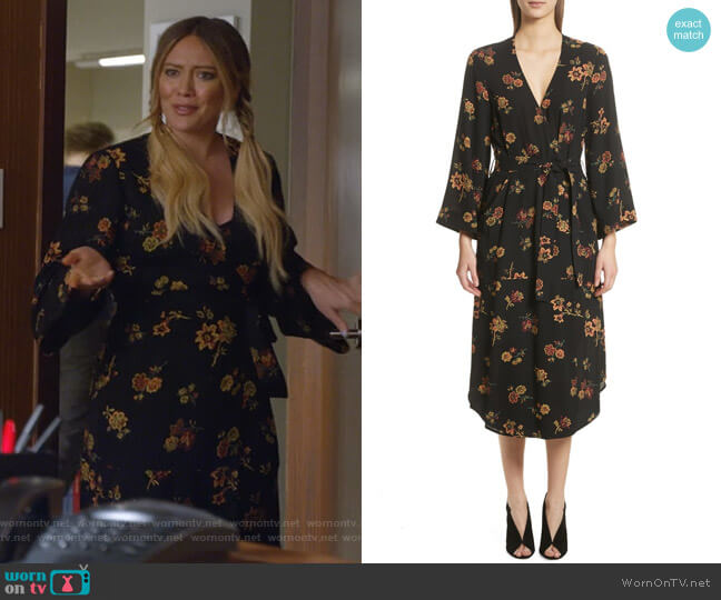 Wilma Dress by ALC worn by Hilary Duff on Younger