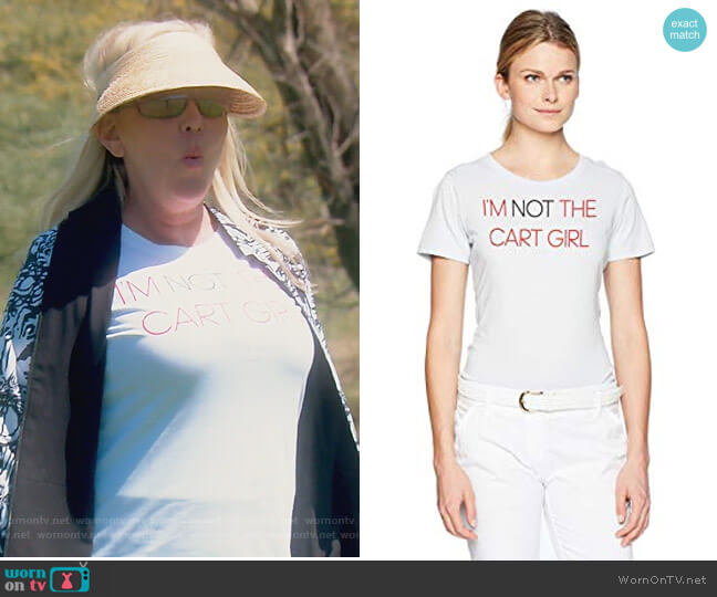 Graphic Cart Girl Tee by Adidas worn by Shannon Beador on The Real Housewives of Orange County
