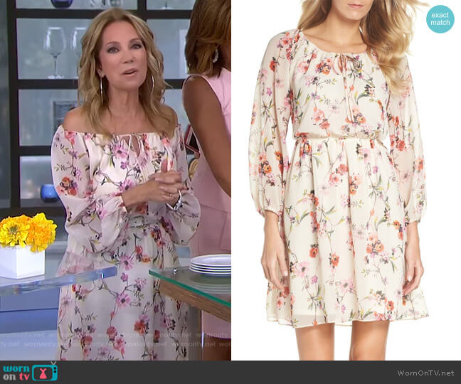 Bonita Dress by Adrianna Papell worn by Kathie Lee Gifford (Kathie Lee Gifford) on Today