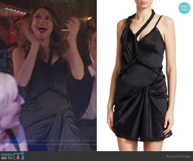 Deconstructed Twist Dress by Alexander Wang worn by Sutton Foster on Younger