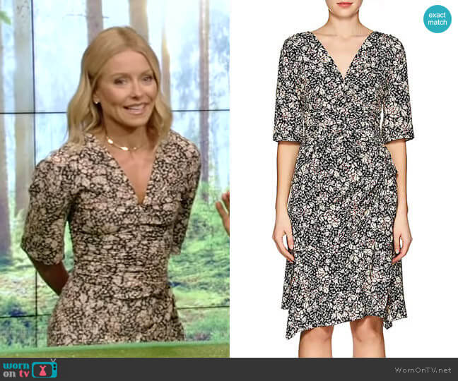 Brodie Dress by Isabel Marant worn by Kelly Ripa (Kelly Ripa) on Live with Kelly & Ryan