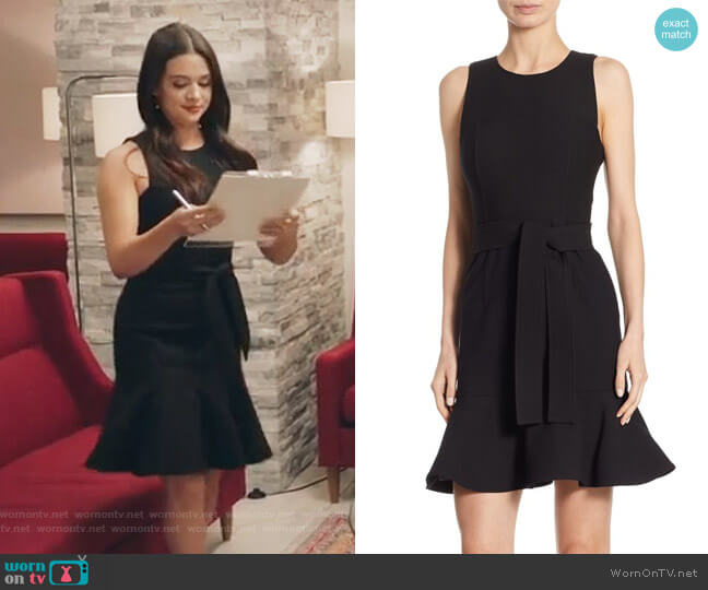 Nofina Sleeveless Dress by Cinq a Sept worn by Katie Stevens on The Bold Type