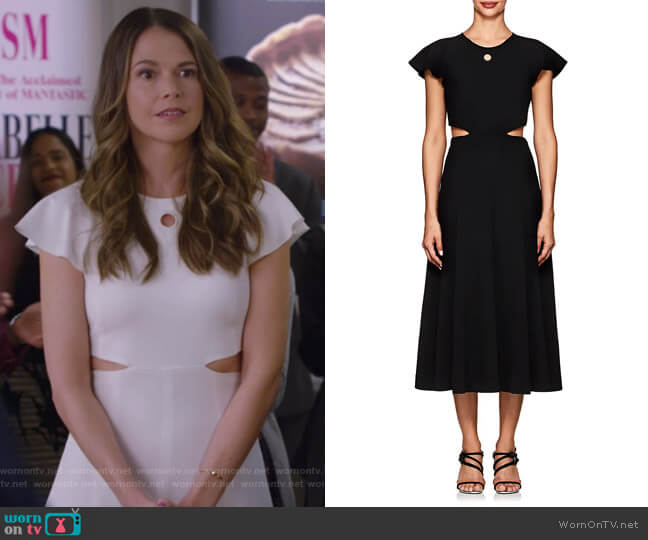 Cutout Cady Dress by Derek Lam 10 Crosby worn by Liza Miller (Sutton Foster) on Younger