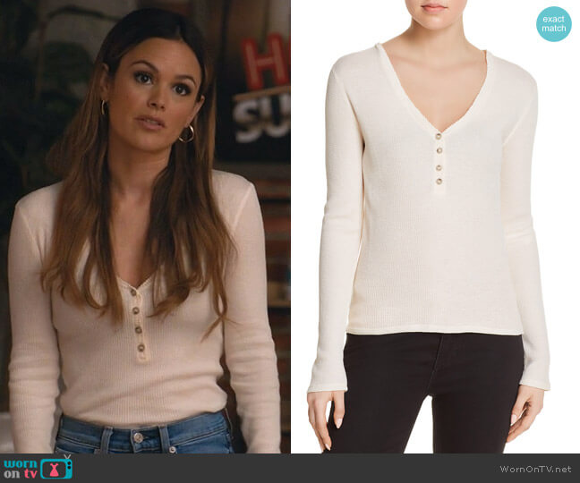 Ester Top by Elizabeth and James worn by Rachel Bilson on Take Two
