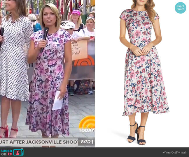 Julia Dress by Gal Meets Glam Collection worn by Dylan Dreyer on Today