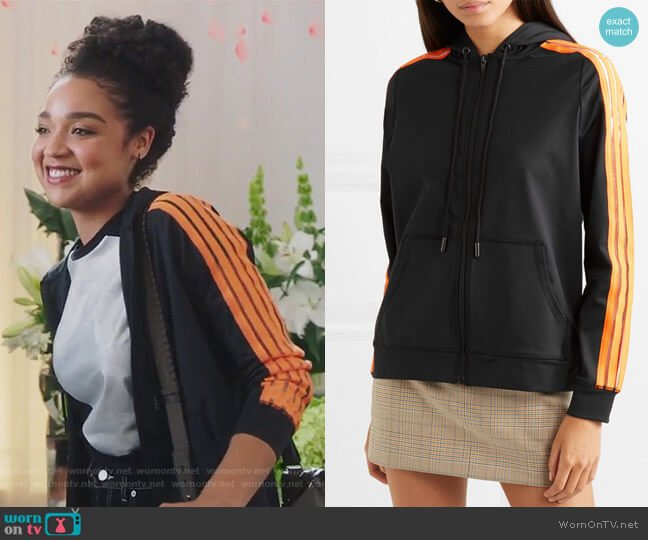 Presbourg Top by Ganni worn by Kat Edison (Aisha Dee) on The Bold Type
