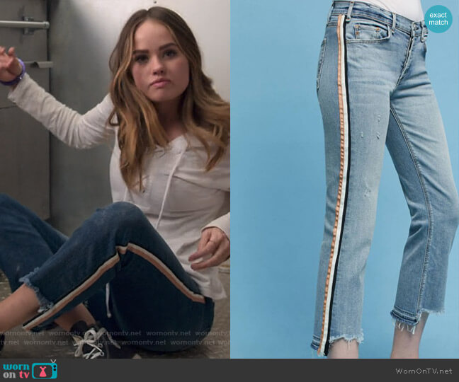 Ibiza Jeans by McGuire worn by Patty Bladell (Debby Ryan) on Insatiable