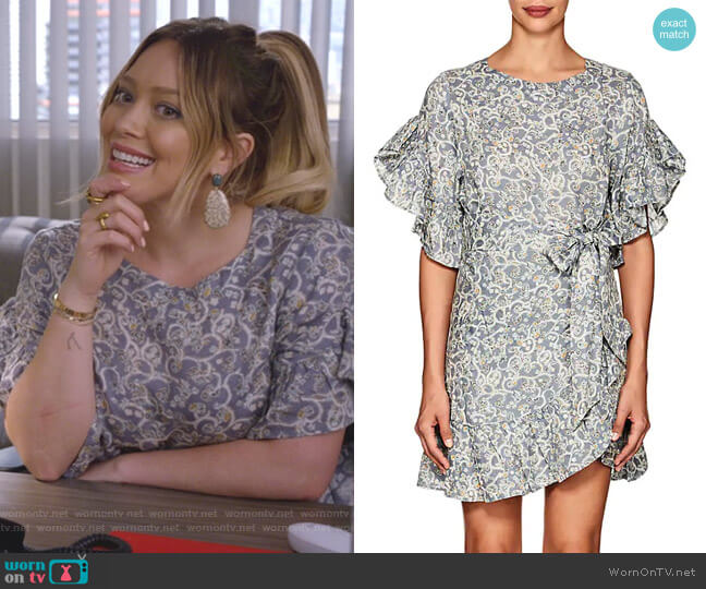 Delicia Dress by Isabel Marant Etoile worn by Kelsey Peters (Hilary Duff) on Younger