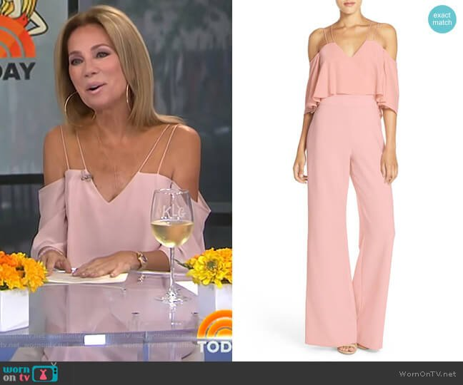 Nix Jumpsuit by Jay Godfrey worn by Kathie Lee Gifford  on Today