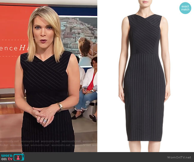 Pinstripe Stretch Dress by Jason Wu worn by Megyn Kelly (Megyn Kelly) on Today