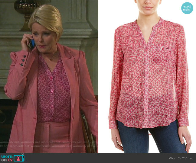 Jasmine Top by KUT from the Kloth worn by Adrienne Johnson Kiriakis (Judi Evans) on Days of our Lives