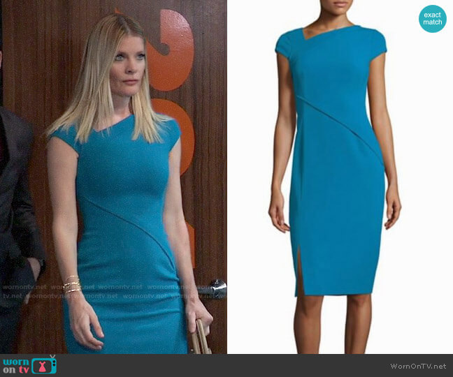 LK Bennett Dr. Sissi Core Dress worn by Nina Reeves (Michelle Stafford) on General Hospital