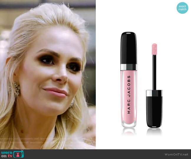 Enamored Hi-Shine Lip Lacquer - Want Me 338 by Marc Jacobs Beauty worn by Kameron Westcott  on The Real Housewives of Dallas
