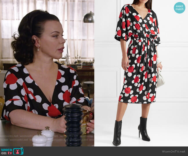 Daisley Dress by Marc Jacobs worn by Maggie (Debi Mazar) on Younger