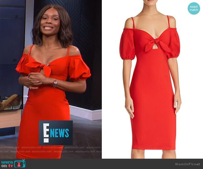 Belle Dress by Nookie worn by Zuri Hall on E! News
